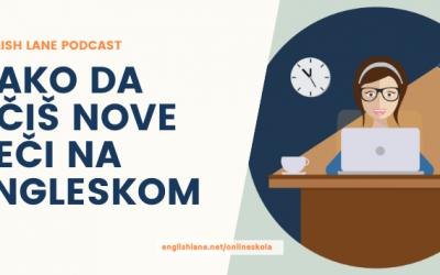 Kako da učiš nove reči na engleskom